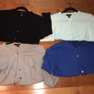 Gap button up sweater bundle